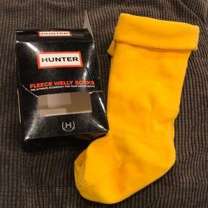 NEW Hunter Kids Fleece Welly Socks MXS